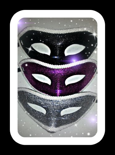 Costume Mask ~ Mardi Gras Masks-Set of two-Assorted selections