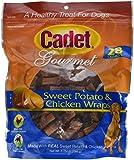 cadet Sweet Potato and Chicken Wraps Dog Treats, 28-Ounce