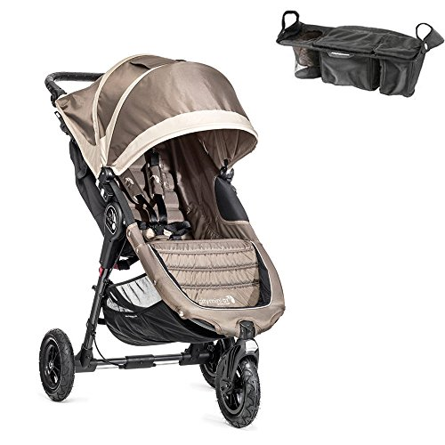 City Mini Gt Stroller In Sand/Stone W Parent Console front-175679