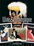 Wine and Champagne: 24 Cards (Dover Postcards)