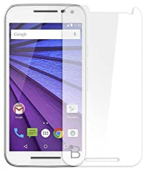 Red Qube Clear Screen Guard For Motorola Moto g Turbo Edition