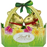 Lindt Swiss Milk Chocolate Gold Bunny Easter Basket