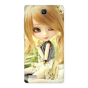 Premium Cute Smiling Doll Multicolor Back Case Cover for Redmi Note