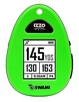 New Izzo Golf- Swami Sport Golf GPS Neon Green 44000 by Izzo Golf