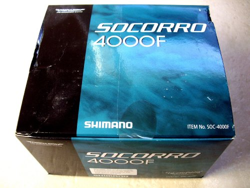 Shimano Socorro 4000FB Salt Water Spinning Reel