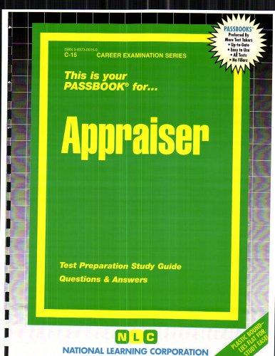 Appraiser (Career Examination Series C-15)