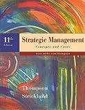 Strategic Management (0073037141) by Thompson, Arthur A.
