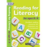 Reading for Literacy for Ages 8-9: Excellent Reading Resource for Classroom Use or Homework (Reading for Literacy)by Andrew Brodie