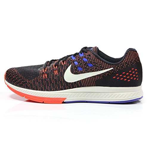 Nike Men's Air Zoom Structure 19 Black/Sail/Ttl Crimson/Rcr Bl Running Shoe 10.5 Men US (Air Supply Shoes compare prices)