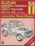 Suzuki Samurai & Sidekick Geo Tracker...