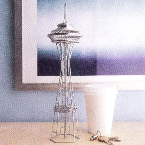 Space Needle Architectural Wire Sculpture Doodles Destinations Series