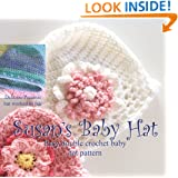 Susan's Simple Baby Hat and Flowers in Preemie and Newborn