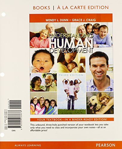 Understanding Human Development, Books a la Carte Plus NEW MyPsychLab with eText -- Access Card Package (3rd Edition)