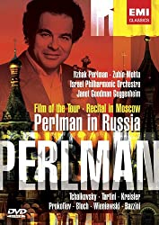 Perlman in Russia from EMI Classics