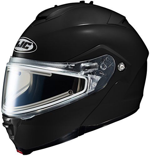 HJC IS-Max 2 Element Modular Snowmobile Helmet with Electric Shield, Solid Black (XXX-Large) (Modular 2 Helmet Shield compare prices)
