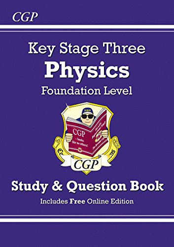 KS3 Physics Study & Question Book (with Online Edition) - Foundation