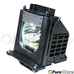 Pureglare 915P061010 TV Lamp for Mitsubishi WD-57733,WD-57734,WD-57833,WD-65733,WD-65734,WD-65833,WD-73733,WD-73734,WD-73833,WD-C657,WD-Y577,WD-Y657