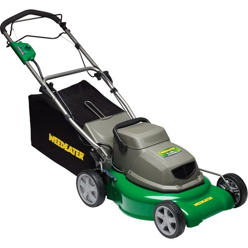 Weed Eater 961420088 18-Inch 24 Volt 2-N-1 Cordless Electric Self Propelled Lawn Mower