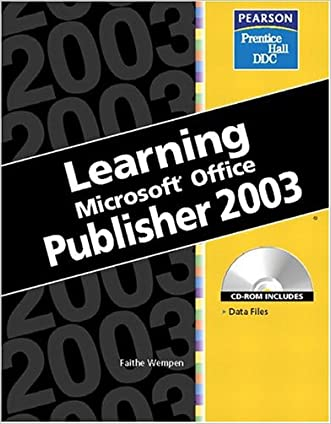 Learning Series (DDC): Learning Microsoft Office Publisher 2003