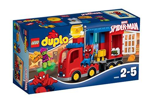 LEGO Duplo 10608 - Super Heroes L'Avventura del Camion di Spiderman