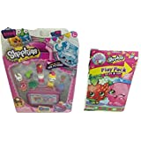 Shopkins Bundle With 1 Season 4 Randomly Picked Shopkins 12 Pack With Shopkins Activity Play Pack Grab & Go