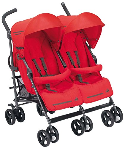 CAM il Mondo del Bambino ART850 Twin Flip Passeggino, Rosso