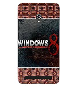 PrintDhaba Windows 8 D-5096 Back Case Cover for ASUS ZENFONE 6 A601CG (Multi-Coloured)