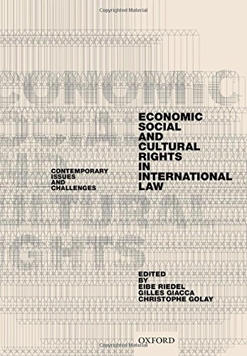 Economic, Social, and Cultural Rights in International Law: Contemporary Issues and Challenges