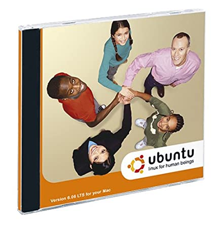 Ubuntu 6.06 LTS DVD (Mac Edition) (Jewel Case)