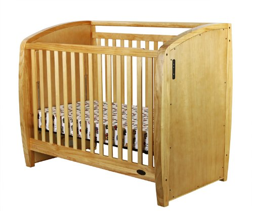 Dream On Me Electronic Wonder Crib, Natural