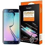 Galaxy S6 Edge フィルム, Spigen® NEW 全面液晶保護フィルム カーブド・クリスタル 前面フィルム 1枚 背面フィルム 1枚 (2015) (国内正規品) (Galaxy S6 Edge, カーブド・クリスタル【SGP05408】)