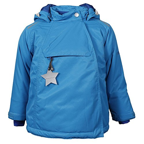 MINI A TURE Mica Winterjacke diva blue, Größe:74 cm
