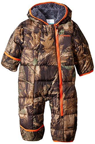 Columbia Baby Boys' Frosty Freeze Bunting, Timberwolf, 12-18 Months