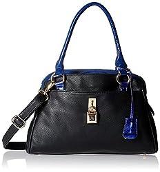 Gussaci Italy Women's Handbag (Black) (GC261)