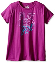 UA Girls Play Like A Girl Short Sleeve