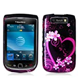 BlackBerry Torch 9800 Graphic Case - Purple Love