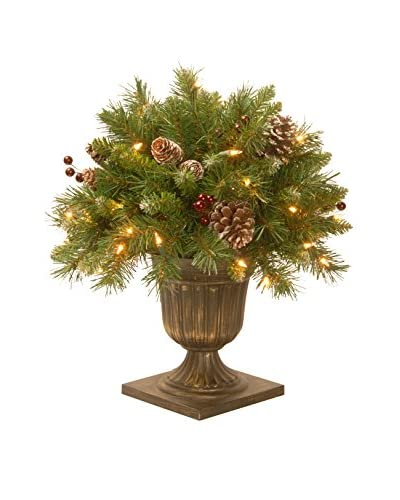 """National Tree Company 18"""" Frosted Berry Porch Bush"""