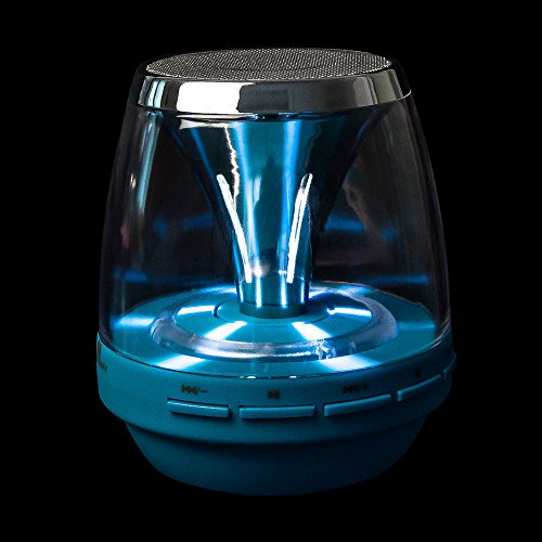 HALOWAY Party Portable Wireless Bluetooth Speaker with Colorful LED Night Light Shaped TF Stereo Music Adapter Card USB FM Radio Support 3.5mm Audio- Works With Any Bluetooth Enabled Device for Apple iphone 5S 5C 5 4S 4 ipod ipad 4 3 2 ipad mini Samsung