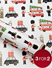 Christmas City Christmas Wrapping Paper