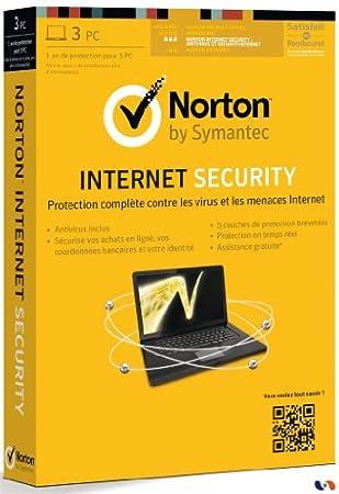 Norton internet security 2013 (3 postes, 1 an)