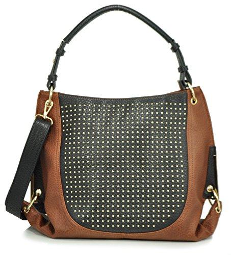 sr-squared-by-sondra-roberts-pebbled-nappa-with-pin-dots-hobo-brown-black