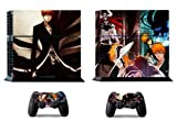 Bleach Skin Sticker for PS4 System Playstation 4 Console with 2 Controller Skins by firststicker [並行輸入品]