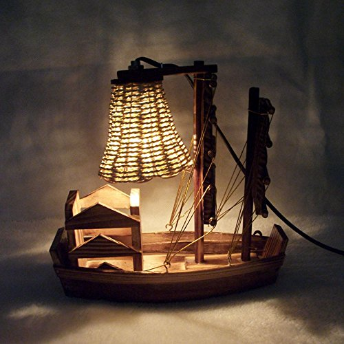 Led-Wooden-sailing-boat-lamp-practical-creative-gifts-wedding-crafts