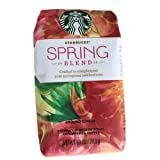 Starbucks, Ground Coffee, Spring Blend, 10oz Bag (Pack of 3)