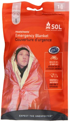 Adventure Medical Kits Sol Emergency Blanket,