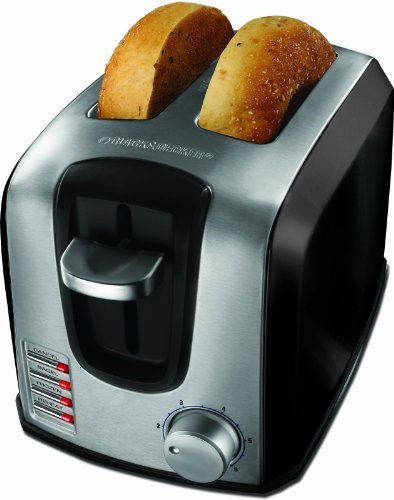 Black & Decker T2707SB 2-Slice Toaster, Black