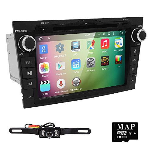Hizpo Android 5.1 Car Radio for Honda CRV CR-V 2007 2008 2009 2010 2011 8 inch DVD Player Wifi GPS Navigation Stereo Bluetooth + Camera