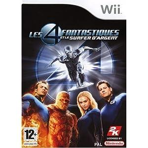 Les 4 fantastiques et le surfer d'argent[Wii][PAL][MULTI5]