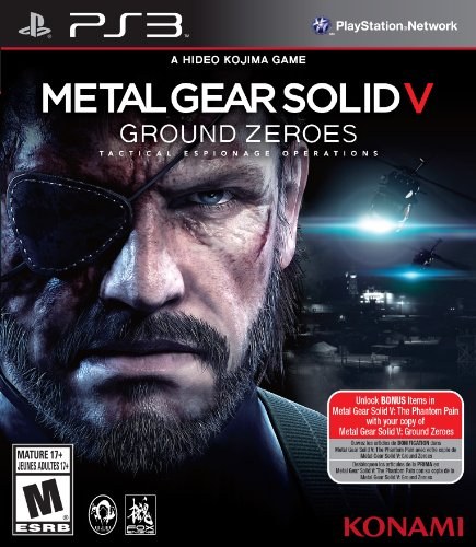 Metal Gear Solid V: Ground Zeroes - Playstation 3 Standard Edition front-948773