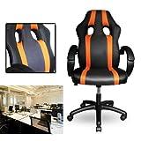 VINGO® PU Chefsessel mit sehr hochwertige Polsterung Bürodrehstuhl Ergonomischer Stuhl Komfort